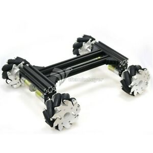 4wd Smart Rc Car Chassis 12v 300rpm High power Motors Large Load Capacity Assem