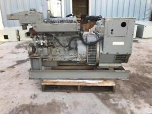 __40 Kw Northern Lights Marine Genset Load Tested Good 12 Lead John Deere