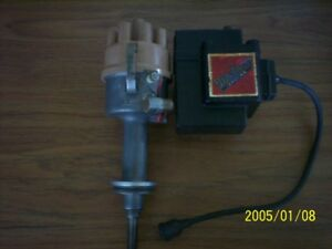 Vintage Mallory Dual Point Distributor Coil Plymouth Dodge 383 361 400 Yl577hp