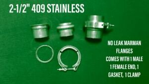 2 1 2 409 Stainless Marman Flange no Comparison To Leaking V band