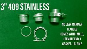3 409 Stainless Marman Flange no Comparison To Leaking V band 76409mar