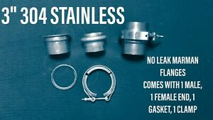 3 304 Stainless Marman Flange No Comparison To Leaking V Band 76304mar