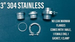 3 304 Stainless Marman Flange No Comparison To Leaking V Band