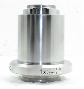 Leica Hc 1x C mount Camera Adapter 541510 For Microscope