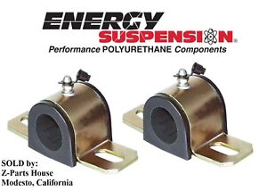 Polyurethane 7 8 Sway Bar Bushing Set For Chevelle El Camino By Energy 5337g