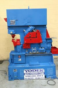 110 Ton Peddinghaus Model 1100g Hydraulic Ironworker Yoder 70274