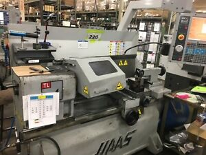 Used 2008 Haas Tl 1 Cnc Turning Center Teach Tool Room Lathe Manual Tl Pre owned