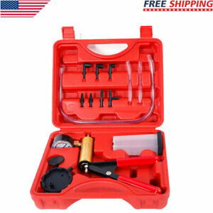2 In 1 Brake Bleeder Vacuum Pump Gauge Test Tuner Kit Tools Diy Hand Tools Hot