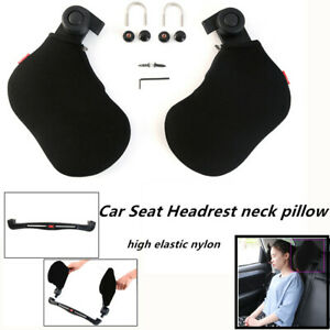 Car Seat Headrest Neck Pillow Head Neck Rest Seat Support interface Can Rotated
