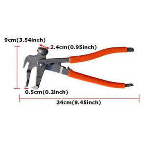 Car Tyre Wheel Weight Plier Hammer Remover Tire Balancer Change Tool Red Black