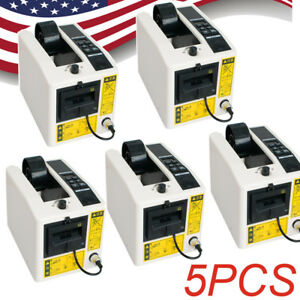 5x Electric Automatic Tape Dispensers Adhesive Tape Cutter Packaging Machine Usa