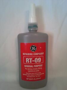 Ge Rt 09 Retaining Compound 8 45oz 250ml Similar Loctite 609 609 41