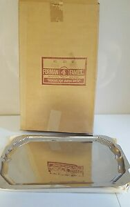 Vintage Forman Family Inc Silver Serving Platter 17 5 Inches