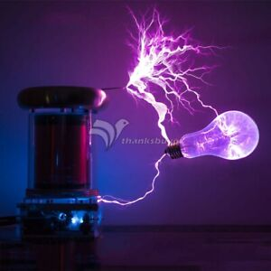 0 2m Musical Tesla Coil Lightning Strom Music Fans Electronic Toy Teaching Finis