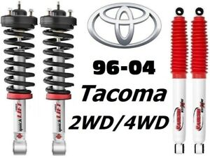 Rancho Quicklift Struts Rs5000x Rear Shocks For 96 04 Tacoma 2 4wd Trd Package