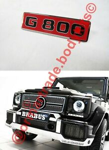 G800 Grille Emblemlogo Badge For Mercedes G class W463 Brabus G800 Style