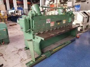 Cincinnati 2cc10 Mechanical Shear B39077