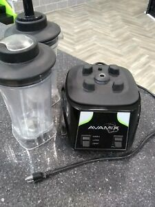 Used Avamix 3 5hp Commercial Blender With Toggle Control Two 64 Oz Containers
