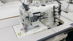 Kansai Special Nw 8803gmg Top Bottom Coverstitch Sewing Machine W Servo Japan