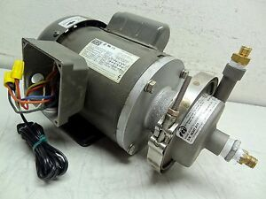 Weg Fti Finish Thompson Inc Ac4 Stainless Centrifugal Pump 115v Single Phase
