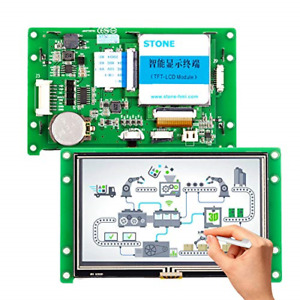 4 3 Inch Tft Lcd Display Module With Controller Program Touch Uart Serial