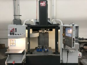 Used 2013 Haas Vf 1 Cnc Vertical Machining Center Mill 20x16 Vmc Wips Ct40 Usb