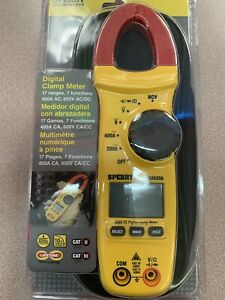 Sperry Instruments 500a Digital Snap around Clamp Meter dsa500a
