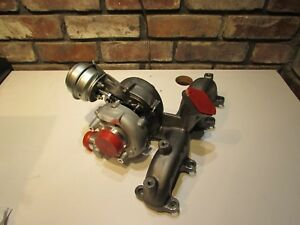 Vw Beetle Golf Jetta Tdi Diesel Turbo Charger With Exhaust Manifold Turbo 1 9 L