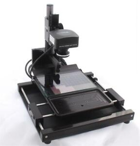 Micro image Capture 8 Microfiche And Aperture Card Scanner W 20mp Usb 3 0