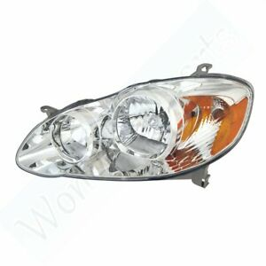 Replacing Head Driver Side Lamp For Toyota 2005 2007 Corolla Ce le Light