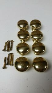 Brass Drawer Pulls Lot Of 8 Used