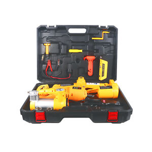 3 0t Electric Hydraulic Floor Jack Andelectri Impact Wrench Car Repair Tool Kit