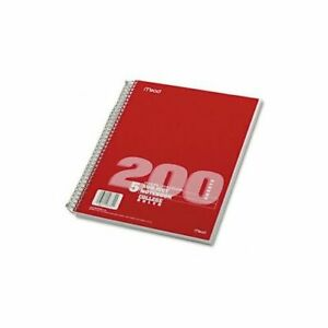 Mead Spiral Bound Notebooks Book theme 11x8 5 200sh Mag1ent90t pack Of20