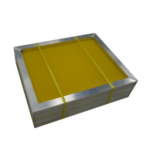 Usa 6pcs 20 X 24 Aluminum Screen Printing Frames With 305 Yellow Mesh Count