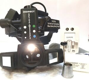 Free Shipping Led Indirect Ophthalmoscope With Accessories Led Binoculars