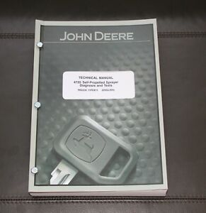 John Deere 4720 Sprayer Diagnosis Tests Service Manual Tm2230