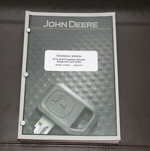 John Deere 4710 Sprayer Diagnosis Test Service Manual Tm1862