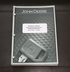 John Deere 4920 Sprayer Diagnosis Test Service Manual Tm2125