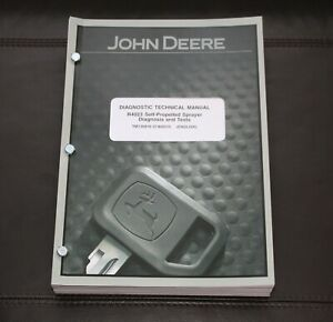 John Deere R4023 Sprayer Diagnosis And Test Service Manual Tm130819
