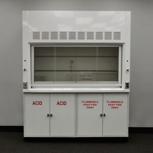 6 Foot Chemical Laboratory Fume Hood With Flammable Acid Cabs