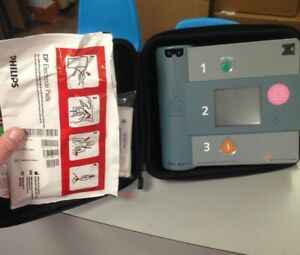 Philips Forerunner Aed Fr1 Heartstream W Pads And Battery
