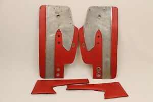 1958 Corvette Original Pair Of Door Panels Upper And Lower In Red Gm Survivor