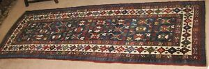 Antique Shirvan Runner 9 6 X 3 4 C 1890 1900