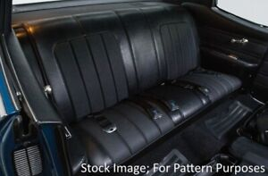 1970 Buick Skylark Custom Gs 350 455 Coupe Rear Seat Cover