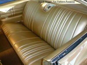 1966 Chevrolet Impala Ss Convertible Rear Seat Cover