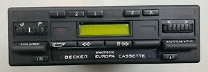 Becker Europa Radio Model 733 With Bluetooth Streaming