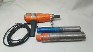 Weka Core Bore Diamond Product Dk12 Hand Held Core Drill With Two Bits