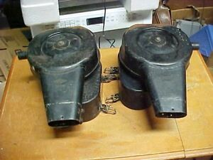 Vintage Oem Porsche 912 Knecht Air Filter Housings For Solex 40 Pii 4 Carbs