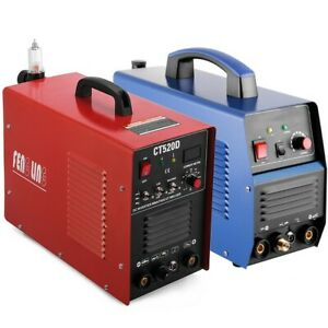 Ct312 Ct520d 3 In 1 Plasma Cutter Tig Mma Welder Cutting Welding Machine