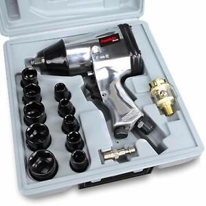 1 2 In Air Impact Wrench Kit Set Pneumatic Wrenches Impact Sockets And Blow Mold